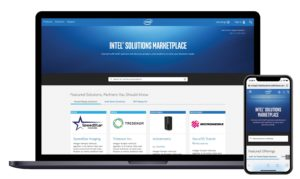Intel Solutions Marketplace Screen Mobile