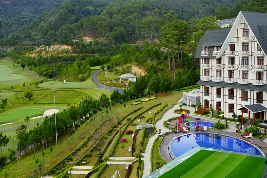 luxury resort on Vietnam