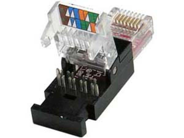 Toolless RJ45 Plug