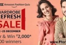 Fashion Quiz Answer