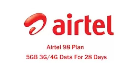 Airtel 98 plan
