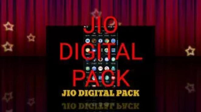 Jio Digital Pack OfferDetails