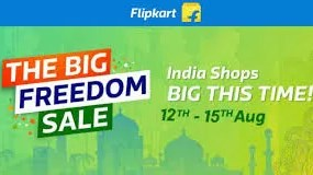 Flipkart Big Freedom Sale 2018 : Offering Up To 80% Discount on Mobile, Laptop and More