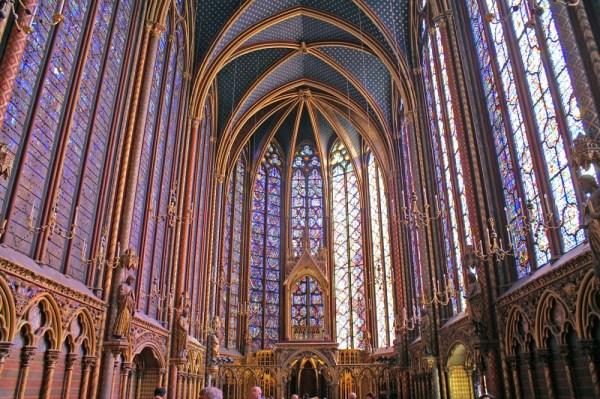 Sainte Chapelle - Gothic Architecture