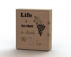 Caixa De Vinho Free Vector