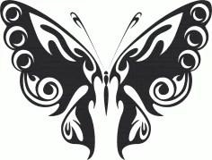 Butterfly Vector Art 047 Free Vector