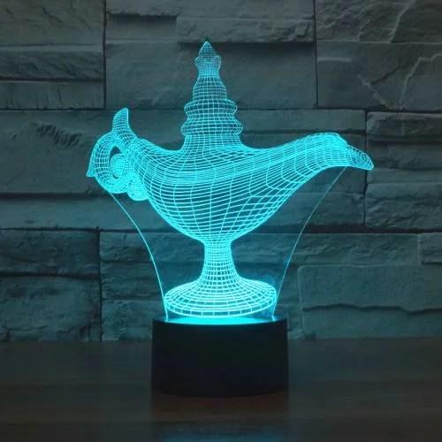 3d Alladdin Lamp DXF File