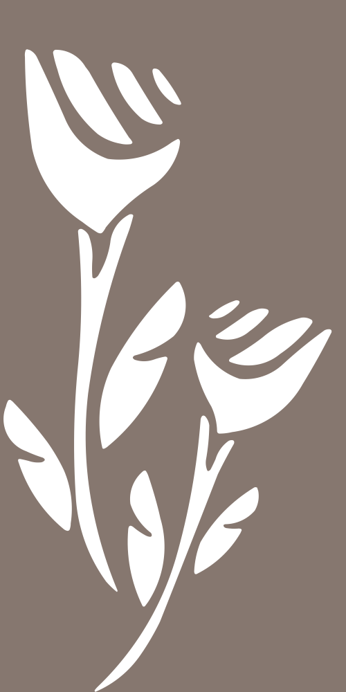 White Seamless Floral Vector Free Vector