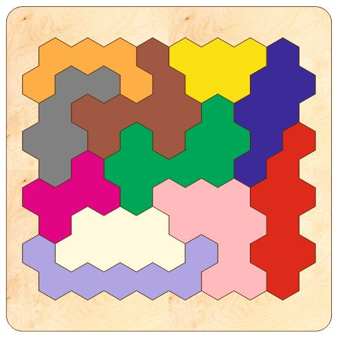 3D Wooden Tangram Puzzles Jigsaw Board Game Toys Laser Cutting Template Free Vector