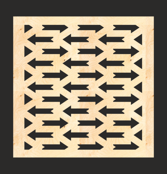 MDF Decorative Screen Panel Pattern Free Vector