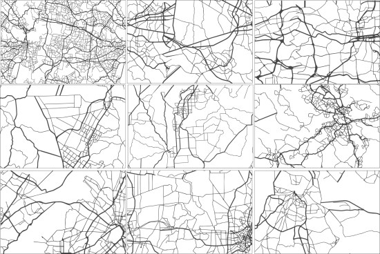 Map Pattern Vector Free Vector