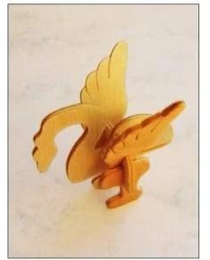 Bird Laser Cut 3D Puzzle PDF File