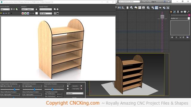 CNC Laser Station - Design (part 1) - CNCKing com