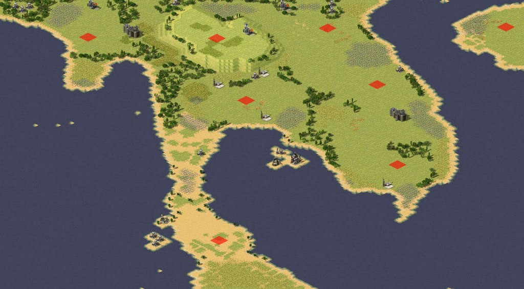 red alert 2 map battle for siam