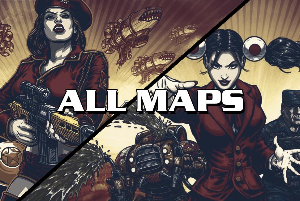 Red Alert 3 maps download
