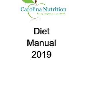 Diet Manual Cover