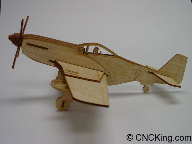 p51mustang-photo-1 P-51 Mustang Aircraft: New Laser Cutter Project Launch!