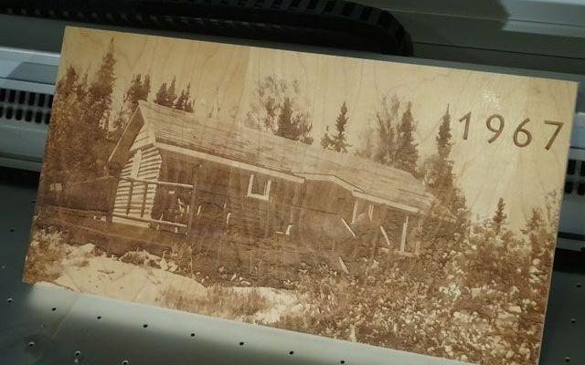 wood-cottage-2 CNC Laser Engraving a Wood Cottage