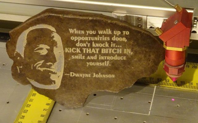 "dwayne-the-rock-cnc-laser-9 CNC Laser Engraving Dwayne ""The Rock"" Johnson on a Rock"