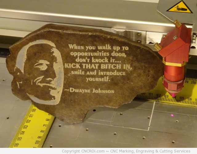 "dwayne-the-rock-cnc-laser-2 CNC Laser Engraving Dwayne ""The Rock"" Johnson on a Rock"