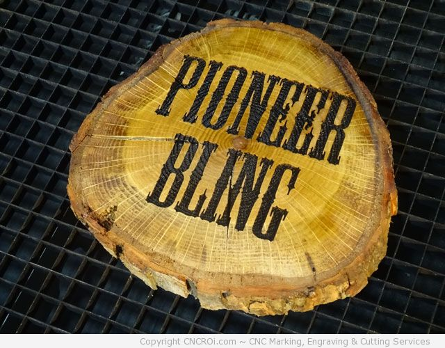 pioneer-bling-9 Wood Logs