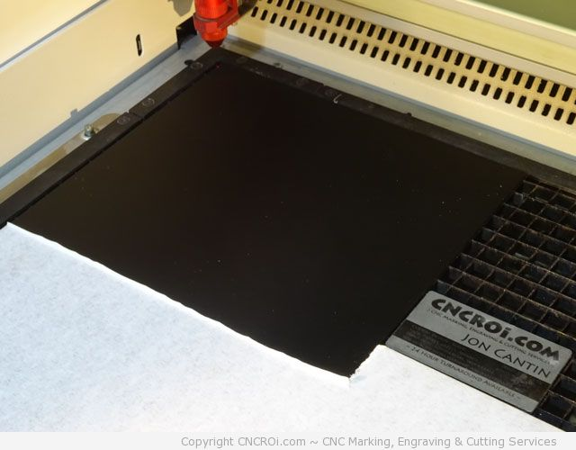 cnc-laser-acrylic-change-1 CNC Fiber Laser Color Changing and CO2 Cutting Black Acrylic