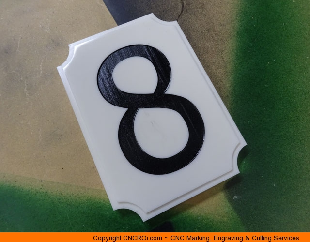 house-number-custom-1 CNC Routing & Lasering Custom Corian House Number Signs