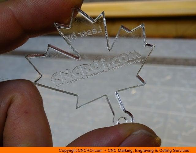 Custom Designed & CNC Laser Cut Acrylic Keychains