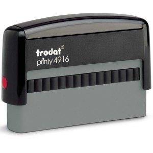 "PR_4916_Eco Trodat Original Printy 4916 Custom Self-Inking Stamp (10 x 70 mm or 3/8 x 2-3/4"")"