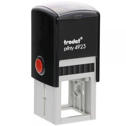 "Trodat_Printy_4923 Trodat Original Printy 4923 Custom Self-Inking Stamp (30 mm or 1.2"" square)"