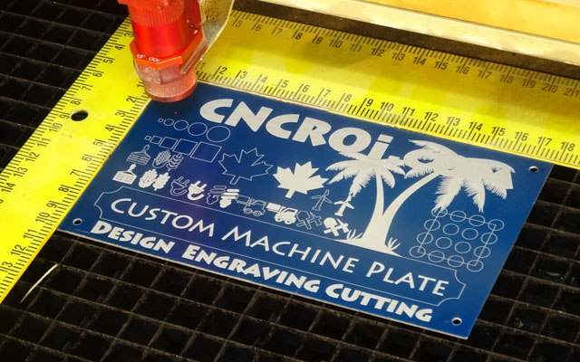 custom-machine-plate-x3 CNC Laser Cutting & Engraving Anodized Aluminium