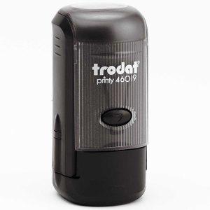 "trodat-46019b Trodat Original Printy 46019 Custom Self-Inking Stamp (19 mm or 3/4"" round)"