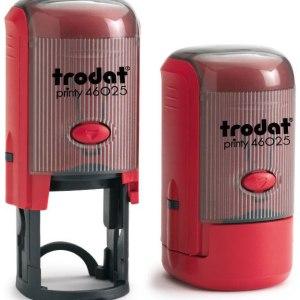 "trodat-46025d Trodat Original Printy 46025 Custom Self-Inking Stamp (25 mm or 1"" round)"
