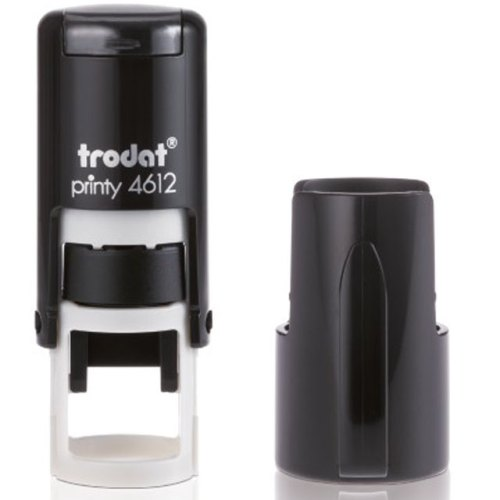 "trodat-4612 Trodat Original Printy 4612 Custom Self-Inking Stamp (12 mm or 1/2"" round)"