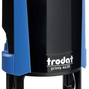 "trodat-4638d Trodat Original Printy 4638 Custom Self-Inking Stamp (38 mm or 1-1/2"" round)"