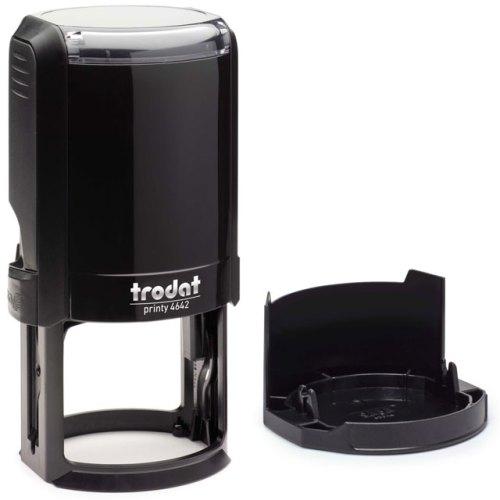 "trodat-4642 Trodat Original Printy 4642 Custom Self-Inking Stamp (42 mm or 1.7"" round)"