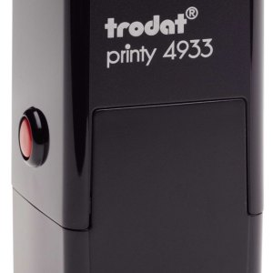 "trodat-4933 Trodat Original Printy 4933 Custom Self-Inking Stamp (25 mm or 0.9"" square)"