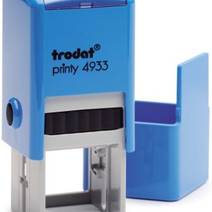 "trodat-4933c Trodat Original Printy 4933 Custom Self-Inking Stamp (25 mm or 0.9"" square)"
