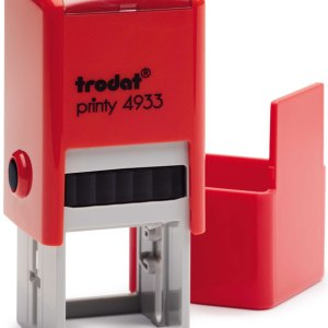 "trodat-4933d Trodat Original Printy 4933 Custom Self-Inking Stamp (25 mm or 0.9"" square)"