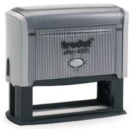 "trodat-printy-4925c Trodat Original Printy 4925 Custom Self-Inking Stamp (25 x 82 mm or 1 x 3-1/4"")"