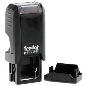 "trodat-printy-original-4907-1 Trodat Original Printy 4907 Custom Self-Inking Stamp (6 x 13 mm or 0.2 x 0.5"")"