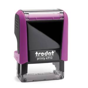 "trodat-printy-original-4910e Trodat Original Printy 4910 Custom Self-Inking Stamp (9 x 26 mm or 3/8 x 1-1/32"")"