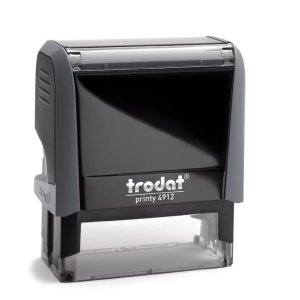 "trodat-printy-original-4912c Trodat Original Printy 4912 Custom Self-Inking Stamp (18 x 47 mm or 3/4 x 1-7/8"")"