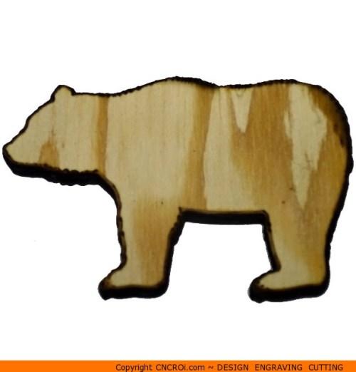 0003-bear-black Bear Black Shape (0003)