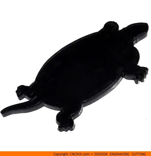 0030-turtle-swimming Turtle Swimming Shape (0030)