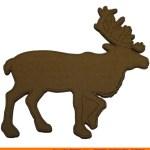 0062-cariboo-walking Caribou Walking Shape (0062)