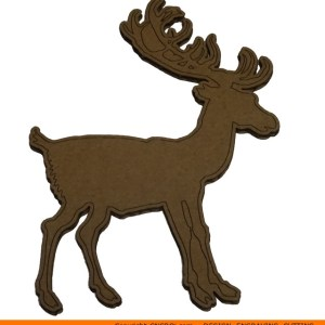 0063-deer-young Deer Young Shape (0063)