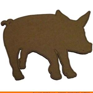 0072-pig1 Pig Shape (0072)