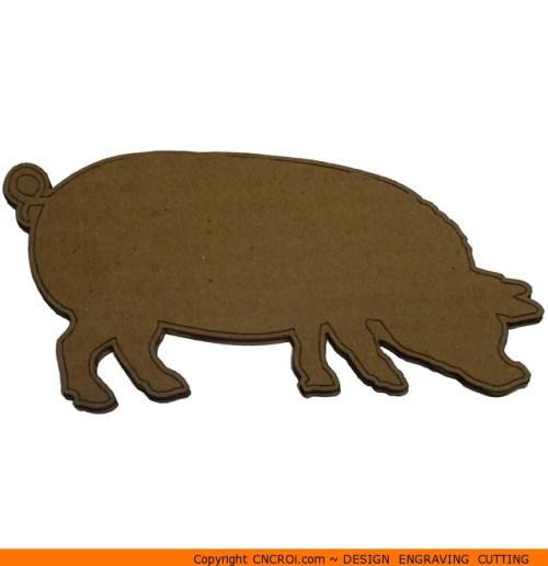 0073-pig-fat Pig Fat Shape (0073)