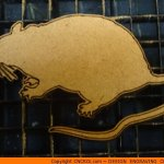 animal-shape-x9 Rat Big Shape (0012)